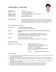 Best Of Recent Resume Format Simple Resume Format Recent Template ...
