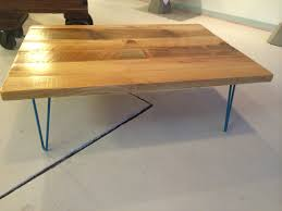 Mexican Pine Coffee Table Hairpin Leg Coffee Table With Reclaimed Wood Top Industrial Pine