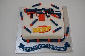 Nerf Gun Cake – Beautiful Birthday Cakes