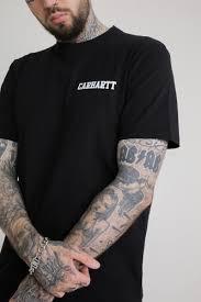 <b>Футболка</b> CARHARTT S/S College Script T-Shirt (Black/White, L ...