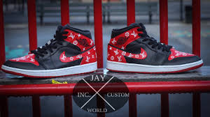 louis vuitton 4s. how to: custom louis vuitton bred 1s louis vuitton 4s t