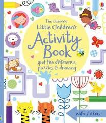 little children s activity book spot the difference puzzles and drawing usborne activity books