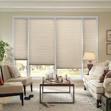 good housekeeping 3 8 inch double cell light filtering shades are energy efficient window coverings