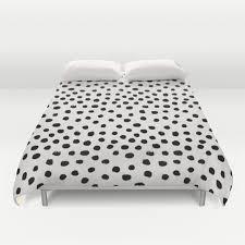 preppy brushstroke free polka dots black and white spots dots dalmation animal spots design minimal