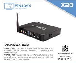 Android Tv Box VINABOX X20 - Ram 4GB - Mới Nhất Năm 2020 - Điều Khiển Bằng  Giọng Nói - Android 10 Siêu Mượt - Hàng Chính Hãng - Android TV Box, Smart  Box Thương hiệu Vinabox