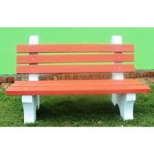 concrete garden bench. Concrete Garden Bench E