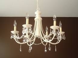 free tutorial with pictures on how to make a chandelier