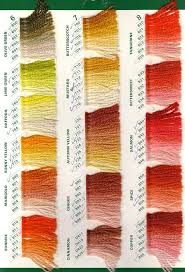 Paternayan Colour Chart 63 Paradigmatic Needlepoint Yarn Color Chart