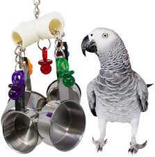 our original the 1750 clacker offers the more energetic bird all the audible and tactile stimulation their day can handle while the huge raggedy 1093