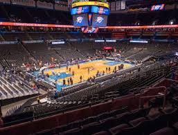 Oklahoma City Thunder Arena Seating Chart Chesapeake Energy Arena Section 211 Seat Views Seatgeek