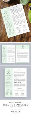 17 best ideas about cover letter template cover professional resume template and cover letter for word and pages one page instant creative resume cv
