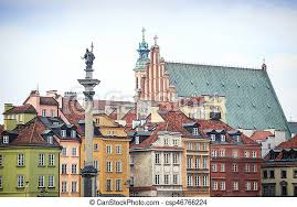 For the english citizens the embassy. Varsovie Ville Zygmunt Colonne Pologne Monument Centre Varsovie Ville Zygmunt Colonne Pologne Charmer Tenements Canstock