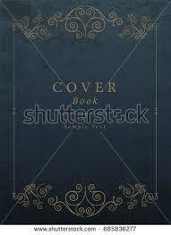 vine book cover vector ilration