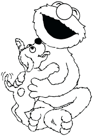 Free Sesame Street Coloring Pages Camelliacottageinfo