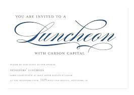 Lunch Invitation Template Employee Appreciation Invitations Bridal
