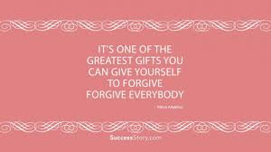 40 Forgiving Yourself Quotes Famous Quotes SuccessStory Delectable Forgive Yourself Quotes