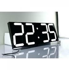 digital wall clock uk fresh wall mount digital clock wall timer clock oversize led digital wall