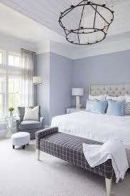 Periwinkle Blue and Heather Gray Bedroom Colors