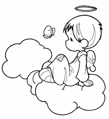 Small Picture Coloring Sheets Printable Pages For Kids And All Ages Angel Angel