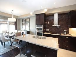 Image of: contemporary kitchen design and dining room modern open kitchen