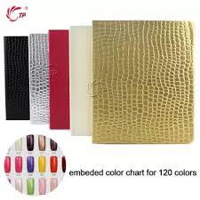 Nail Color Chart 120 160 216 Tips Nail Color Chart Nail Display Book Card Uv Gel Polish Manicure Practice Show Case Books Gel Polish Nail Art