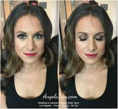 los angeles celebrity makeup artist and hair stylist angela tam emmy award makeup artist team angela tam wedding