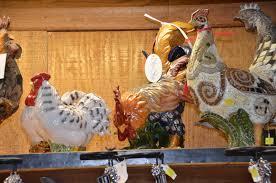 Rooster Chicken Kitchen Decor Primitive Chicken French Farm Kitchen Decor New Ebay Wooden