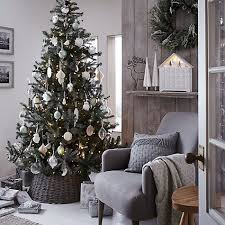Buy John Lewis Croft Collection Silver Forest Spruce Christmas Tree, 7ft  Online at johnlewis.