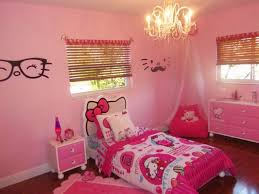 pink wall paint unique chandelier hello kitty bedroom furniture rectangular white wooden daybeds huge aquarium room design butterfly painting wall pink fur adorable pink chandelier