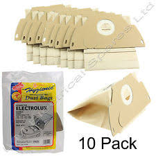 electrolux hoover bags. 10 x vacuum cleaner hoover dust bags for electrolux mondo models z1160e e44 e49 e