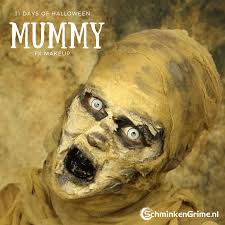 mummy makeup tutorial video 31 days of