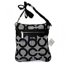 Coach Legacy Swingpack In Signature Medium Grey Crossbody Bags AWN