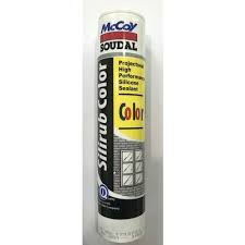 Mccoy Soudal Weather Brown Color Silicone Sealant