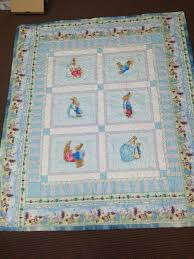 Peter Rabbit baby quilt with minky backing   Quilts   Pinterest ... & Peter Rabbit baby quilt with minky backing Adamdwight.com