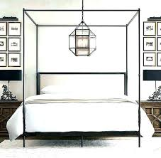 Wrought Iron Canopy Bed White Wrought Iron Canopy Bed Wrought Iron ...