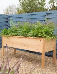 cedarlast elevated planter box elevated garden planters c57