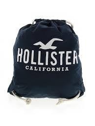 Hollister Size Chart Womens Details About Hollister Women Blue Backpack One Size