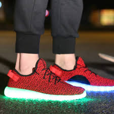Light Up Sneakers For Adults Senarai Harga Bevoker 8 Colors Led Light Up Shoes For Adults
