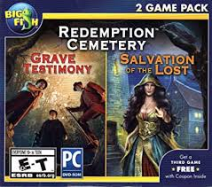 I tried torrenting it and buying it from bfg but the version is too outdated for my pc, can't find a working version anywhere (self.hiddenobjectgames). Amazon Com Redemption Cemetery Grave Testimony Salvation Of The Lost Hidden Object Pc Game Video Games