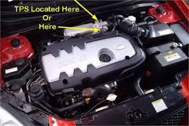 service tps senser 13 kia rio fixya check engine lite says the throttle postion sensor is bad