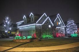 Ice White Led Christmas Lights Professional Christmas Light Installation Burr Ridge Call