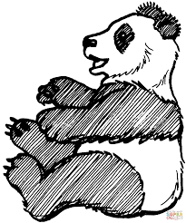 Small Picture Baby Panda Sits on Tree coloring page Free Printable Coloring Pages