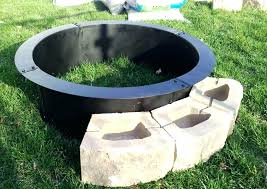 steel rings for fire pit fire pit steel ring insert steel metal fire pit ring liner