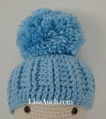 Baby Beanie Crochet Pattern Awesome Free Crochet Patterns And Designs By LisaAuch Free Crochet Newborn