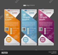 Web Banner Design Price Three Tariffs Banners Vector Photo Free Trial Bigstock