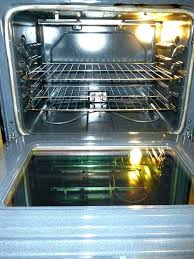 clean oven glass how clean inside glass oven door electrolux