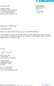 3715a Tt 3715a Cover Letter Letterhead Template Thrane