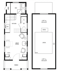 Main Floor Plan Four Lights Tiny House Plans Pinterest - Tiny home design plans