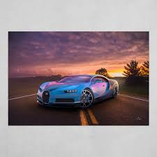 Buy bugatti poster and get the best deals ✅ at the lowest prices ✅ on ebay! Bugatti Chiron Art Poster By Alen Glusac