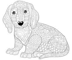 Dogs, dogs, and more dogs. Zentangle Dog Print For Adult Coloring Page Vector Mandala Pages Simple Designs Color Book Kids Easter Owl Unicorn Free Printable Therapeutic Oguchionyewu